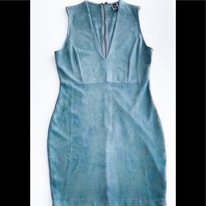 Windsor deep V-neck dress
